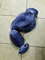 Сетевое полотно, длина 65м, ячейки 15 и 18мм, толщина лески 0,17 мм, синее, Финляндия