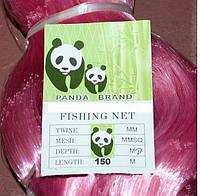 Сетеполотно из лески Panda Brand ячейка 50 и 55 мм: толщина лески 0,17 мм, высота 75 ячеек, 150 м