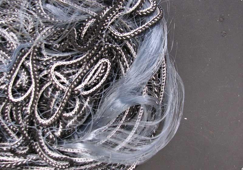Сеть финка одностенная, длина 30м, высота 1,5м, леска, ячейка 40-45мм, плавающий шнур, грузок - Интернет магазин «Наш базар» быстро, доступно и качественно в Киеве