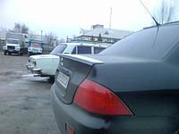 Спойлер багажника ( сабля, лип спойлер ) Mitsubishi Lancer 9