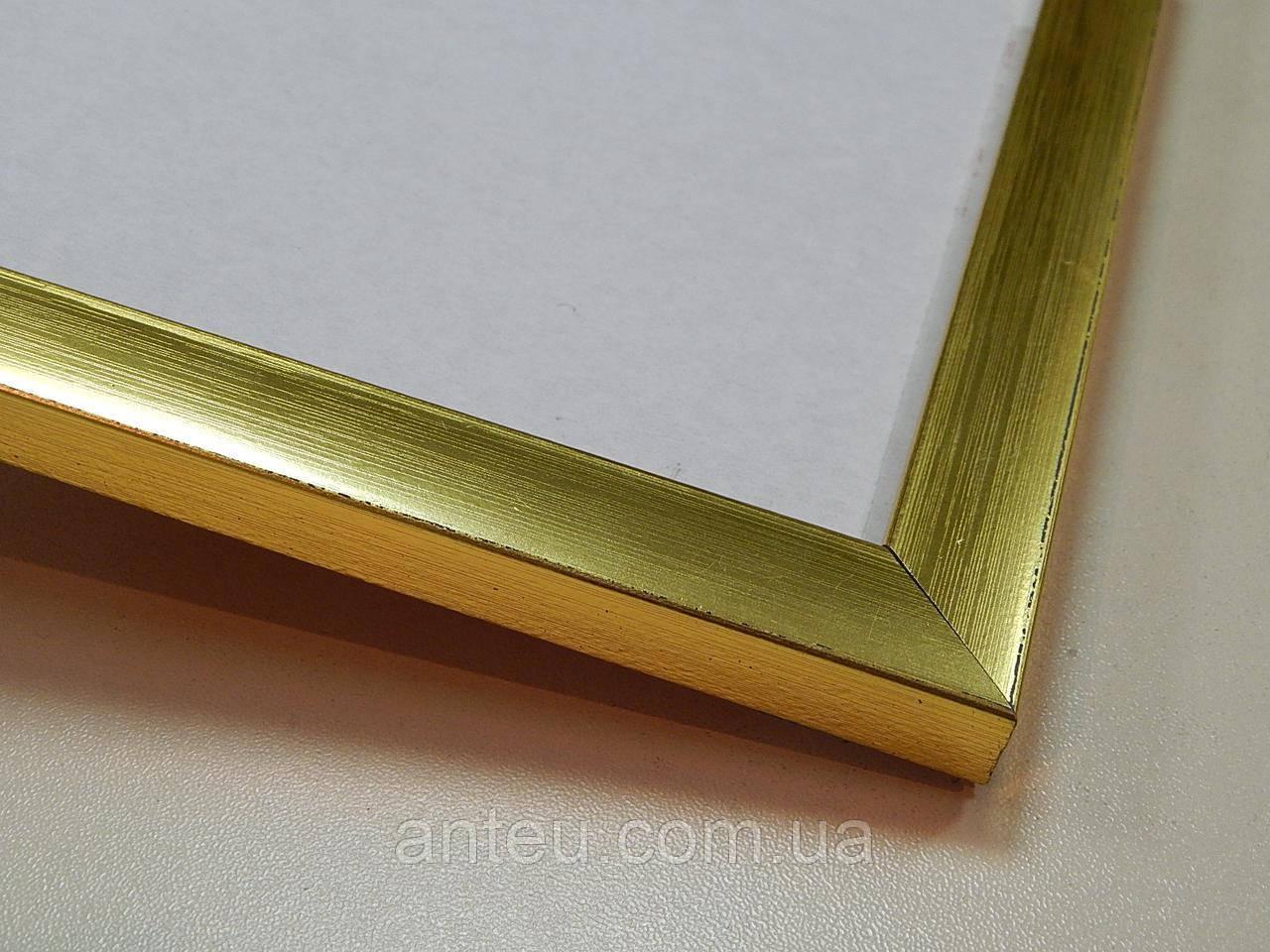 Рамка 10х15.16 мм.Золото глянцевое.