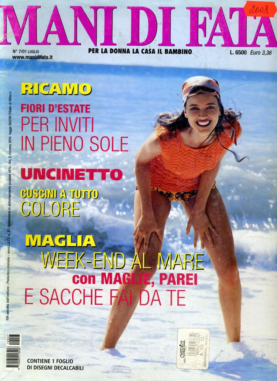 "Журнал по рукоделию ""MANI DI FATA""  июль 2001"
