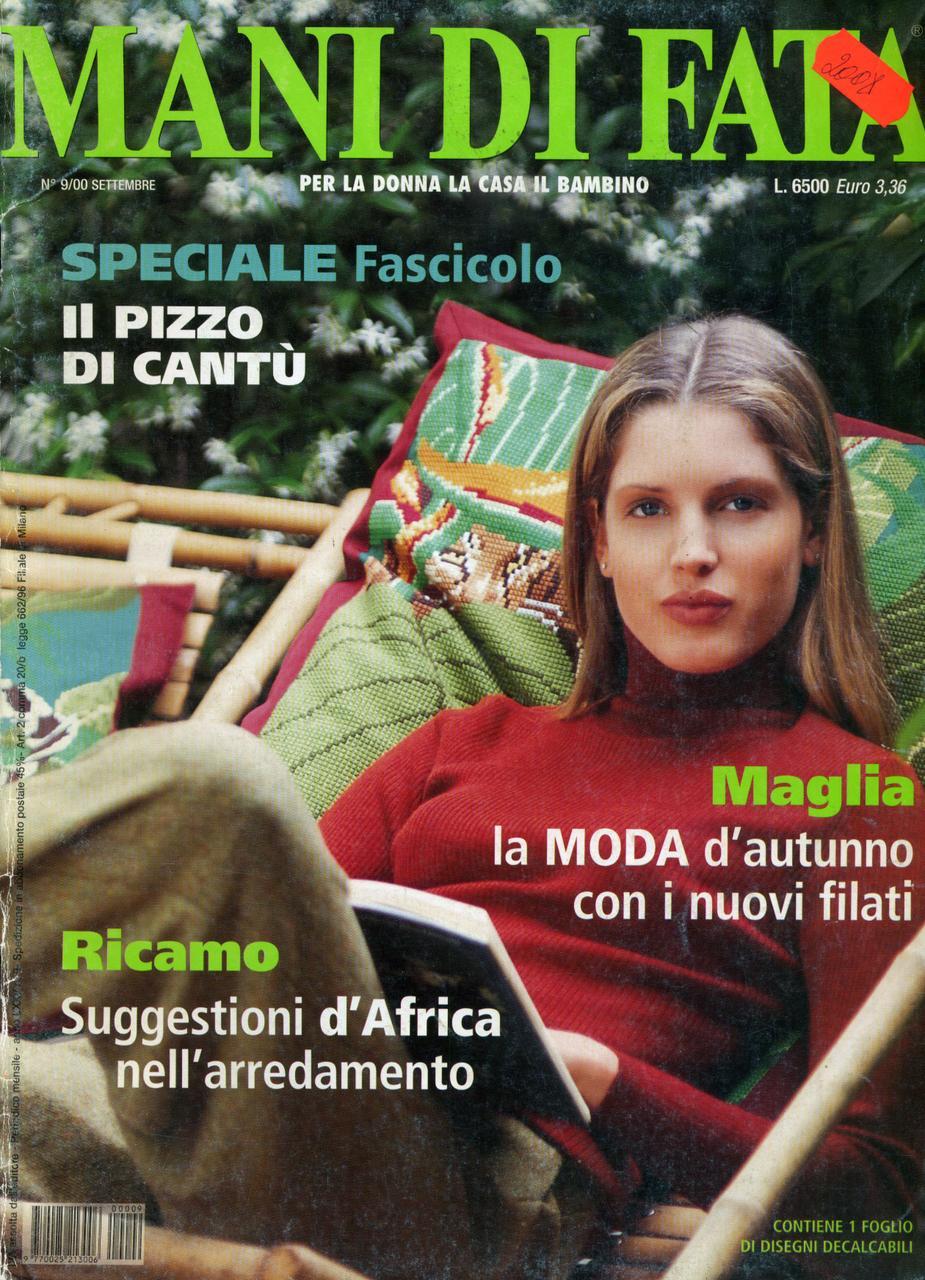 "Журнал по рукоделию ""MANI DI FATA""  сентябрь 2000"