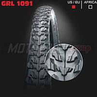 """Покрышка велосипедная без камеры GRL 26""""х2.0 (1091)"""