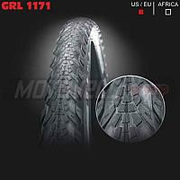 """Покрышка велосипедная без камеры GRL 26""""х2.0 (1171)"""