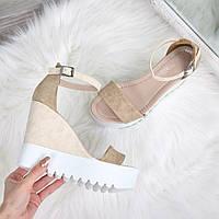 Босоножки женские Stefani беж, летняя обувь