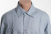O'BLEU  рубашка 100% ЛЕН размер  L  ПОГ 58 см б/у