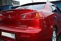 Спойлер багажника ( сабля, лип спойлер ) Mitsubishi Lancer X 2007+ Митсубиси Лансер Х