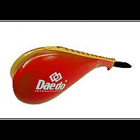 Двойная детская ракетка Daedo (PR 1613) Red/Yellow