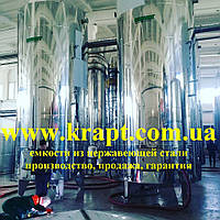 Вертикальный резервуар из нержавеющей стали