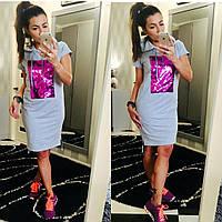 Стильные платье -туника