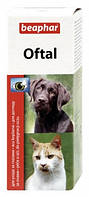 Средство Beaphar для очистки глаз, для собаки токов (OFTAL), 50 мл