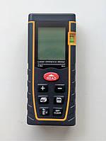 Дальномер лазерний, лазерна рулетка на 80м, точність +-2мм.