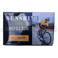 "Камера велосипедная 14х1.75/2.125 ""SUNSHINE"""