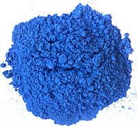 Фарба Холі (Гулал), Синя фасування 75 грам, суха порошкова фарба для фествиалів, флешмобів, фото, фото 1