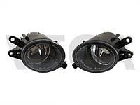 Audi A4 B6 00-04 галогенки левая и правая комплект фары противотуманки линзы дополнительная оптика А