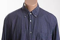 BRIONI  рубашка д/р размер L XL ПОГ 63 см  б/у