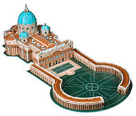 Трехмерная модель Собор Святого Петра, CubicFun