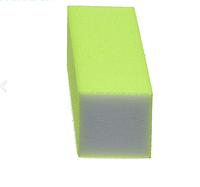 Баф для нігтів жовтий, 100/100 полірувальний 1шт