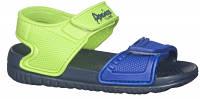 Детские пляжные босоножки American club из EVA пены цвет сине-зеленый р.24,26,27,28,29 стильным деткам
