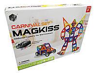 Магнитный конструктор Magkiss Mini HD343A 118 деталей