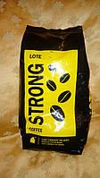 Кофе Португальский в зернах CAFFE STRONG (черная упак.)