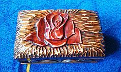 Шкатулка из натурального дерева, фото 3