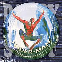 Тарелки Человек-паук 18 см, 10 шт