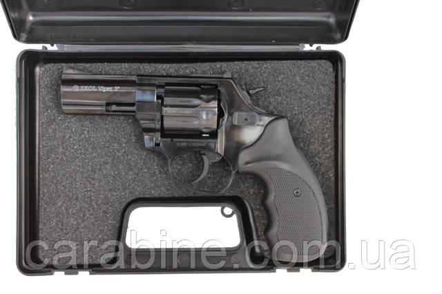 """Револьвер флобера Ekol Viper 3"""" black в кейсе"""