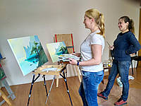 Мастер-класс по живописи в Кременчуге