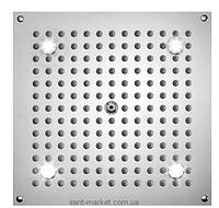 Верхний душ встраиваемый в потолок с подсветко BOSSINI коллекция Dream Cube Light хром H37375