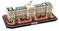 Трехмерная головоломка-конструктор Букингемский дворец, 72 детали, CubicFun