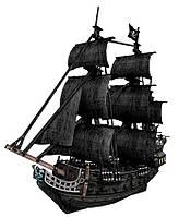 Трехмерная головоломка-конструктор Корабль Черной бороды, Месть королевы Анны (большой), CubicFun