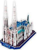 Трехмерная головоломка-конструктор Собор Святого Патрика (США), CubicFun