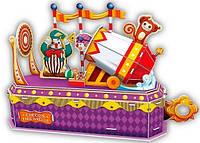 Трехмерная головоломка-конструктор Цирк: клоун-трюкач, CubicFun