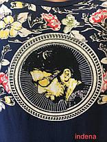 """Мужская Футболка Стрейч Марка """"J 365+1"""" Арт.Т883 (синий), фото 3"""