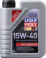 Масло моторное Liqui Moly MoS2 Leichtlauf 15W-40, 1L