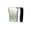 Мерный стакан прозрачный 240 мл с крышкой YRE