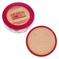 L'oreal Infailible Make-up Непобедимая пудра с покрытием тон.крема 146