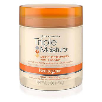 Відновлююча маска для волосся Neutrogena Triple Moisture Deep Recovery Hair Mask