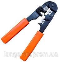 Инструмент для обжима коннекторов обжимка RJ-12 RJ12 клещи обжимные