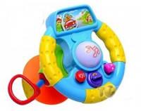 Автотренажер Веселый шофер 7298 руль детская развивающая игра