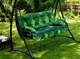 Подушки,матрасы для садовых качель 175 см.Мягкая часть для садовых качель.