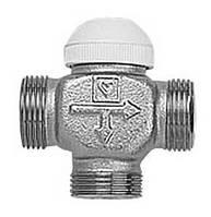 """Трехходовой термостатический клапан 3/4"""" CALIS-TS для теплых полов и бойлеров"""