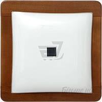 Светильник настенно-потолочный Vesta Light НББ 3х20 Вт E27 орех 31222