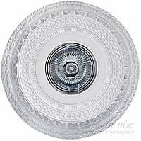 Светильник точечный  Точка света гипсовый СВБ 18У-9-066УХЛ4 35 Вт GU5.3 белый