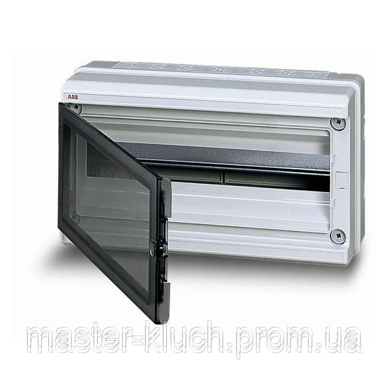 Шкаф ABB EUROPA 18 мод IP 65 прозрачная
