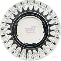 Светильник точечный Feron с Led-подсветкой 50 Вт G5.3 хром C1015