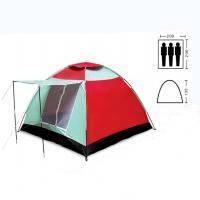 Палатка 3-х местная SY-019 (р-р 2,0*2,0*1,35м, PL)