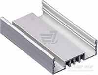 Профиль алюминиевый П-образный ЛСО  TIS для LED ленты 200 см